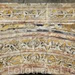 Portada de la iglesia parroquial de la Cruz. PALENCIA DE NEGRILLA. Comarca de La Armuña. Provincia de Salamanca. España. Spain