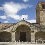 Ermita ,s XII. Población de CALZADA DE VALDUNCIEL. Via de La Plata. Comarca de La Armuña. Provincia de Salamanca. España. Spain