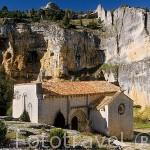 Ermita de San Bartolomé. Parque Natural del Cañon del rio Lobos. SORIA. Castilla y León. España