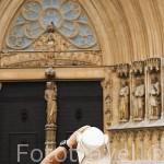 Plaza de la Seu junto a la catedral. TARRAGONA. Ciudad Patrimonio de la UNESCO. España