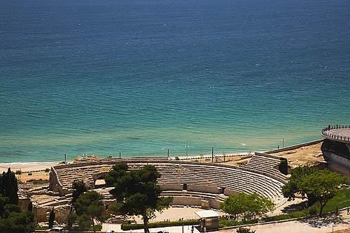 Anfiteatro romano, s.II.d.C. TARRAGONA. Ciudad Patrimonio de la UNESCO. España