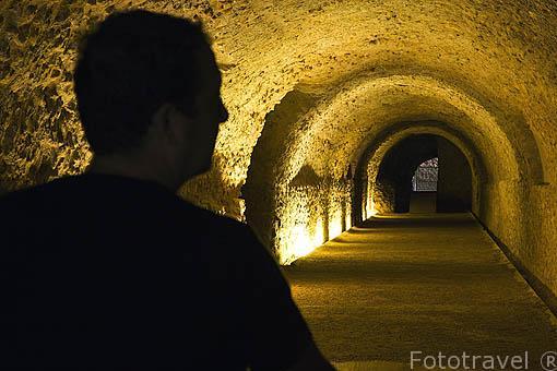 La Volta del Circ. Interior del Pretorio Romano, s.I d.C. TARRAGONA. Ciudad Patrimonio de la UNESCO. España