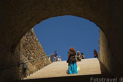 Interior del Pretorio Romano,s.I d.C. TARRAGONA. Ciudad Patrimonio de la UNESCO. España