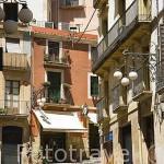 Calle Baixada de la Misericordia. TARRAGONA. Ciudad Patrimonio de la UNESCO. España