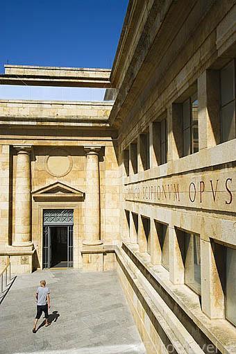 Fachada del Forum Provincial de TARRAGONA. Ciudad Patrimonio de la UNESCO. España