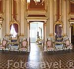 Interior, salon. Casa de Castellarnau, S.XV.TARRAGONA. Ciudad Patrimonio de la UNESCO. España