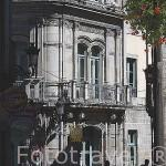 Fachada de la biblioteca central. Ciudad de VIGO. Galicia. España