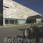 Edificio Verbum - Casa de las Palabras junto a la playa de Samil. 2003. Contemporaneo. VIGO. Galicia. España