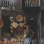 Calle de los Cesteiros / Cesteros. Ciudad de VIGO. Galicia. España