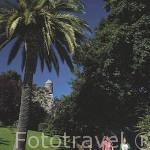 Jardines del parque Do Castro. En el centro de la ciudad de VIGO. Galicia. España
