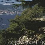 Parque, restos de la fortaleza y mirador Do Castro. Ciudad de VIGO. Galicia. España