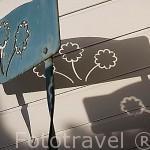 Detalle y sombras de una silla. Francia