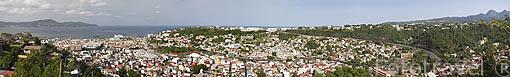 Ciudad de FORT DE FRANCE. Capital de la isla de MARTINICA. Franc
