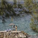Playa de Pointe du Bout, zona del Sur oeste de la isla de MARTINICA. Francia. Caribe