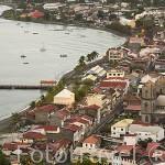 Ciudad de ST-PIERRE. Noroeste de la isla de Martinica. Francia. Caribe