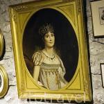 Cuadro con retrato de Marie Joseph Rose Tascher de la Pagerie. Edificio del Museo de la Pagerie. Zona de Les Trois Islets. Isla de MARTINICA. Caribe. Francia