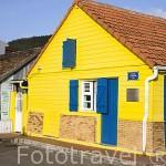 Casa de estilo colonial junto a la playa de Les Anses d´Arlet. Al sur oeste de la isla de MARTINICA. Caribe. Francia