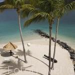 Playa y cañon. Hotel Club Med. Zona de Pointe Marin, al sur oeste. Isla de MARTINICA. Francia. Caribe
