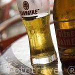 Cerveza Lorraine. Producida en la isla de MARTINICA. Francia. Caribe
