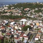 Ciudad de FORT DE FRANCE. Capital de la isla de MARTINICA. Francia. Caribe