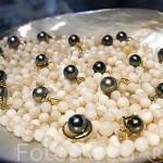 Perlas negras de varios colores. Isla de TAHAA. Polinesia Francesa. Oceano Pacifico