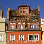 Fachadas renacentistas de la plaza del Mercado. Ciudad de WROCLAW. Silesia. Polonia