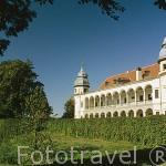 Palacio Krobielowice, situado a 45 Kms de la ciudad de Wroclaw desde su campo de golf. KROBIELOWICE. Silesia. Polonia.