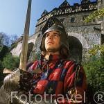 David Godyn. Pertenece a la sociedad de caballeros del castillo /palacio de Ksiaz, el más grande de la Baja Silesia. Cercano a WALBRZYCH. Polonia