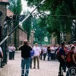 Antiguo campo de concentración de Auschwitz I, abierto en 1941. Situado al oeste de la ciudad de CRACOVIA. Polonia