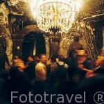 Capilla de San Antonio, s.XVII. Interior de las Minas de Sal de WIELICZKA. Declaradas por la UNESCO como Patrimonio de la Humanidad. Al sur de la ciudad de Cracovia. Polonia