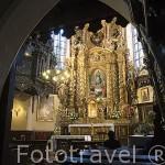 Iglesia del convento de las hermanas de la Caridad San Vicente de Paul S.XIII- XIV. CHELMNO. Polonia