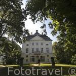 Palacio viejo de Mostowskich 1832 - 1848. En las afueras de CHELMNO. Polonia