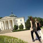 El palacio de Lubostron. Pueblo de LUBOSTRON, cerca de la ciudad de Bydgoszcz. Polonia