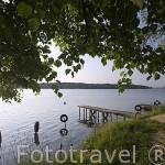Lago de Koronowo cerca de la ciudad de BYDGOSZCZ. Polonia