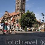 La torre del Ayuntamiento. Ciudad de TORUN, (Unesco). Kuyavia- Pomerania. Polonia