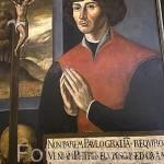 Retrato de Copernico. Original por Melchior Pyrnesiusz. Interior del museo y casa natal de Copernico. Ciudad de TORUN. (Unesco). Kuyavia- Pomerania. Polonia