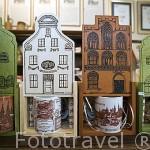 Tienda Emporium vende galletas hechas con gengibre entre otros productos. Ciudad de TORUN. (Unesco). Kuyavia- Pomerania. Polonia