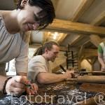 Museo taller donde se puede ver el proceso de elaboracion de las galletas de gengibre. Ciudad de TORUN. (Unesco). Kuyavia- Pomerania. Polonia