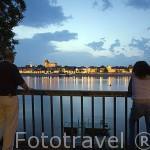 El rio de Wisla y la ciudad amurallada de TORUN. (Unesco). Kuyavia- Pomerania. Polonia
