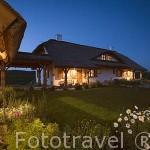 Alojamiento rural Gleboczek. Cerca de BRODNICA. Junto al lago Forbin. Region de Kuyavia- Pomerania. Polonia