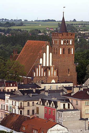 Ciudad de BRODNICA. Region de Kuyavia- Pomerania. Polonia