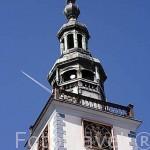 Torre del Ayuntamiento, original de 1298, Gotico - renacentista 1567 -1572. Poblacion de CHELMNO. Region de Kuyavia- Pomerania. Polonia