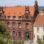 Edificio de correos. Poblacion de CHELMNO. Region de Kuyavia- Pomerania. Polonia