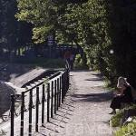 Paseando junto al rio Brda. Ciudad de BYDGOSZCZ. Region de Kuyavia- Pomerania. Polonia