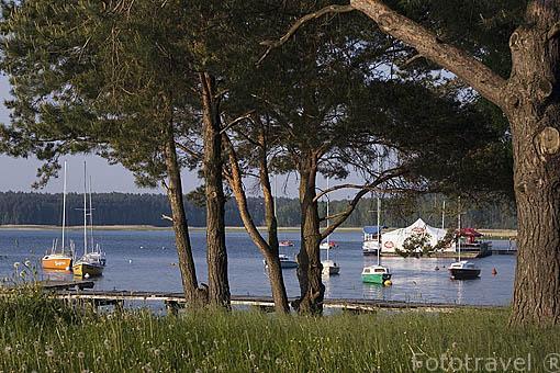 Lago de Koronowo cerca de la ciudad de BYDGOSZCZ. Region de Kuyavia- Pomerania. Polonia
