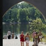 "La puerta de ""Cloister gate"" de acceso a la ciudad amurallada de TORUN (Unesco). Kuyavia- Pomerania. Polonia"