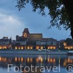 Ciudad amurallada de TORUN, (Patrimonio de la Unesco desde 1997), fundada por la orden teutonica en 1233, junto al rio Wisla / Vistula. Kuyavia- Pomerania. Polonia