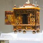 Cabinete barroco. Por Johann,Georg en 1724. Museo del Ambar. Ciudad de GDANSK. Polonia