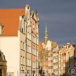 Calle Piwna. Ciudad de GDANSK. Polonia