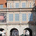La Puerta Verde, acceso este a la ciudad de GDANSK. Polonia.